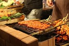 街头烤肉图片