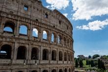 罗马斗兽场局部高清图片