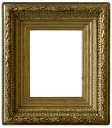 复古金属相框图片素材