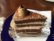 焦糖巧克力蛋糕图片