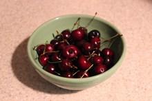 夏天樱桃水果高清图片