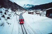 开往冬天的列车精美图片