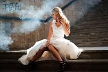 欧美美女婚纱写真高清图