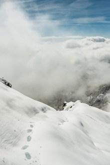 雪山美景旅游照片图片下载