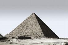 埃及金字塔黑白图片下载