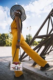 MM131性感黑人美女写真图片