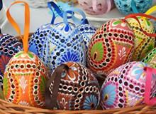 手绘复活节彩蛋高清图片