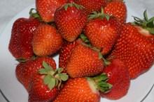红色食用草莓高清图