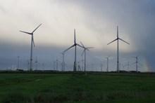 风力发电场风车图片素材