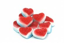 红色心形糖果高清图片