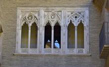 欧式雕花窗户高清图