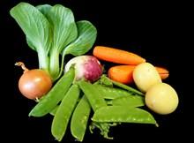 烹饪健康蔬菜高清图片