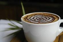 拿铁风味咖啡图片素材