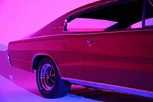 红色小汽车图片素材