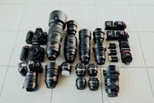 多种照相机镜头图片素材