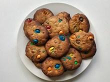 多彩烤饼干精美图片