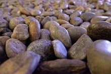光滑鹅卵石背景精美图片