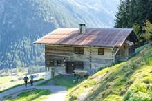 奥地利高山木屋精美图片