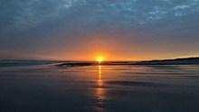 海平面日出景观图片下载