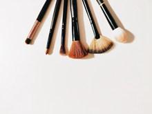 化妆刷子高清图片