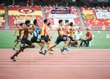 运动会跑步比赛精美图片