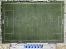 足球场俯视图高清素材精美图片