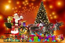 圣诞节礼物背景精美图片