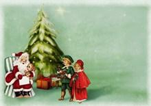 创意圣诞贺卡精美图片
