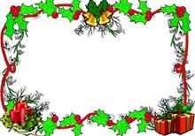 圣诞边框背景精美图片