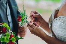 新郎新娘胸花图片大全