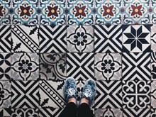 复古花纹地面瓷砖 复古花纹瓷砖大全图片素材