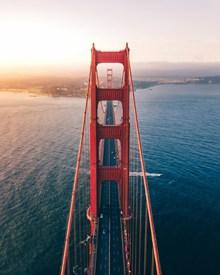 美国金门大桥高清高清图片