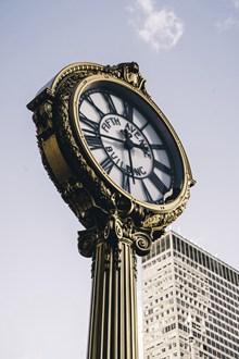 时钟建筑素材图片