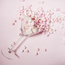 粉色糖果背景图片
