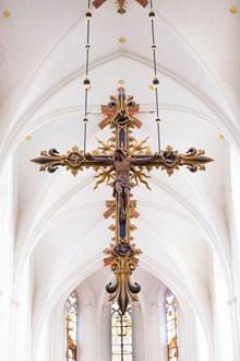 耶稣被钉十字架高清图