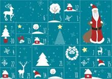 圣诞元素背景素材图片大全