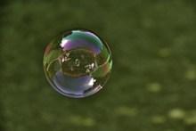 透明泡沫背景图片素材