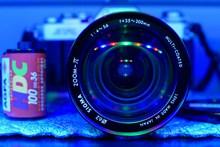 照相机蓝光镜头精美图片