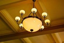 枝形照明吊灯图片素材