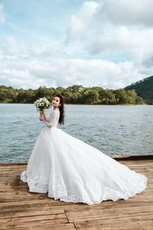 婚纱个人写真风格精美图片