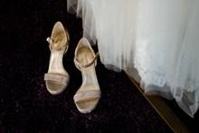 结婚高跟凉鞋高清图片