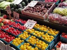 菜市场水果摊位图片大全