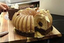 创意圆形蛋糕高清图