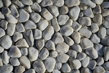 白色鹅卵石背景图片素材