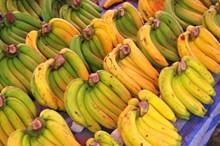 市场香蕉图片