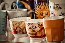 花式咖啡杯精美图片