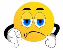 愤怒黄色卡通表情图片下载
