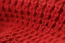 红色毛线背景高清图片