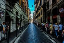 欧洲复古街景图片