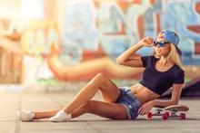 长腿美女gogo人体摄影图片素材